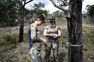 Setting up trail cams