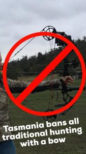 Bowhunting banned