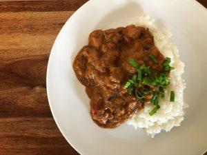 Panang Curry Rabbit