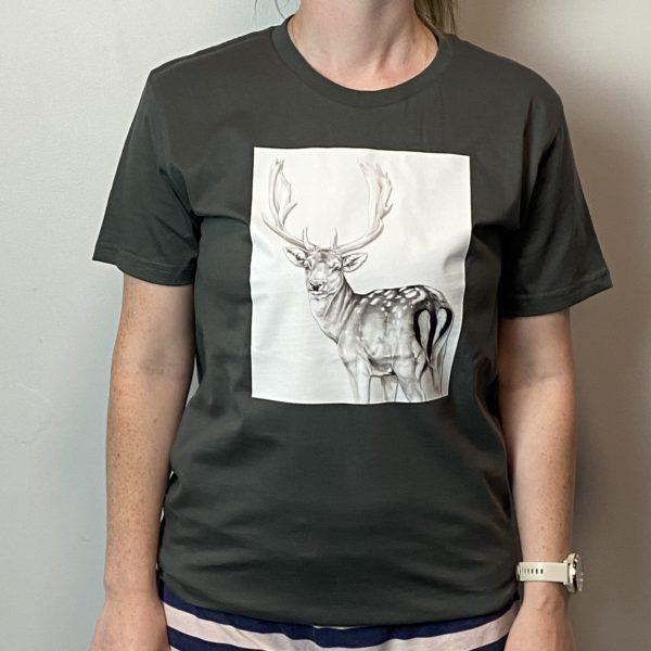 IAH fallow deer tshirt
